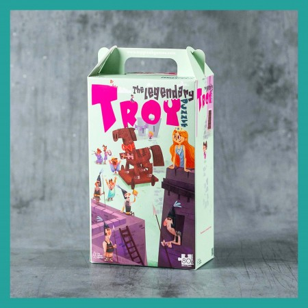 The legendary Troy Puzzle