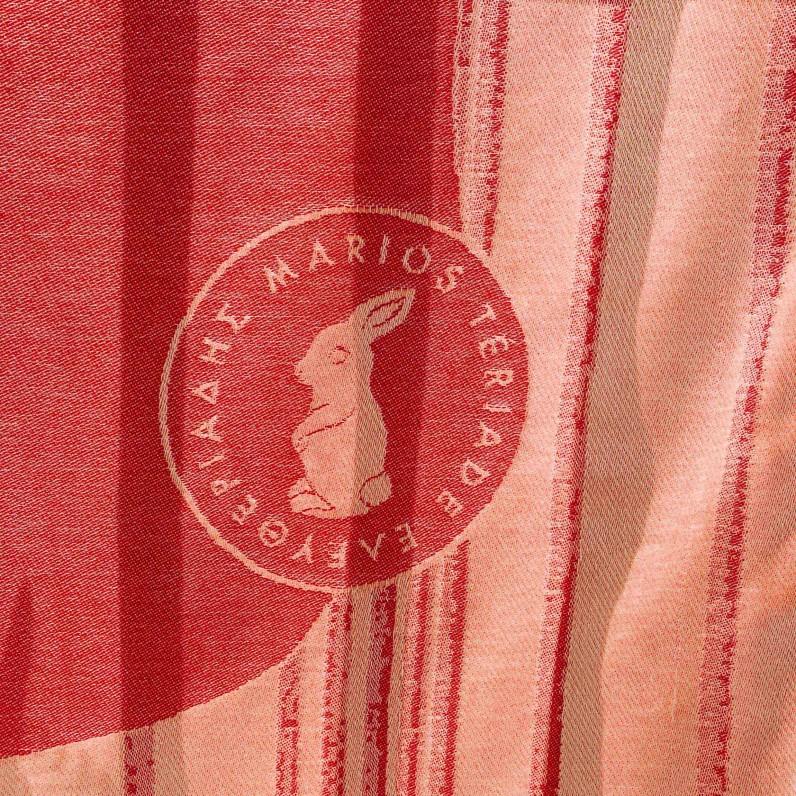 """""""Red Rabbit"""" towel"""