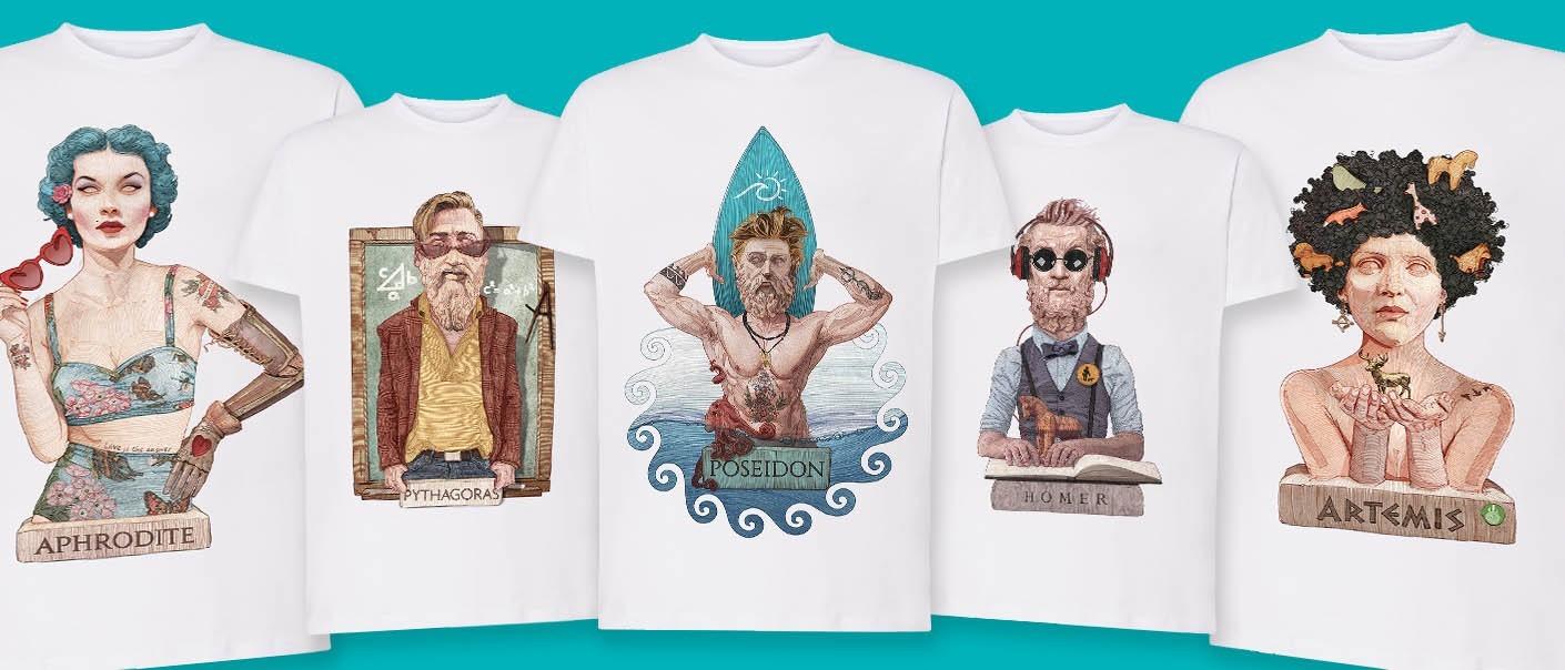 T-shirt | MYGREEKGAMES | OHMYGOD