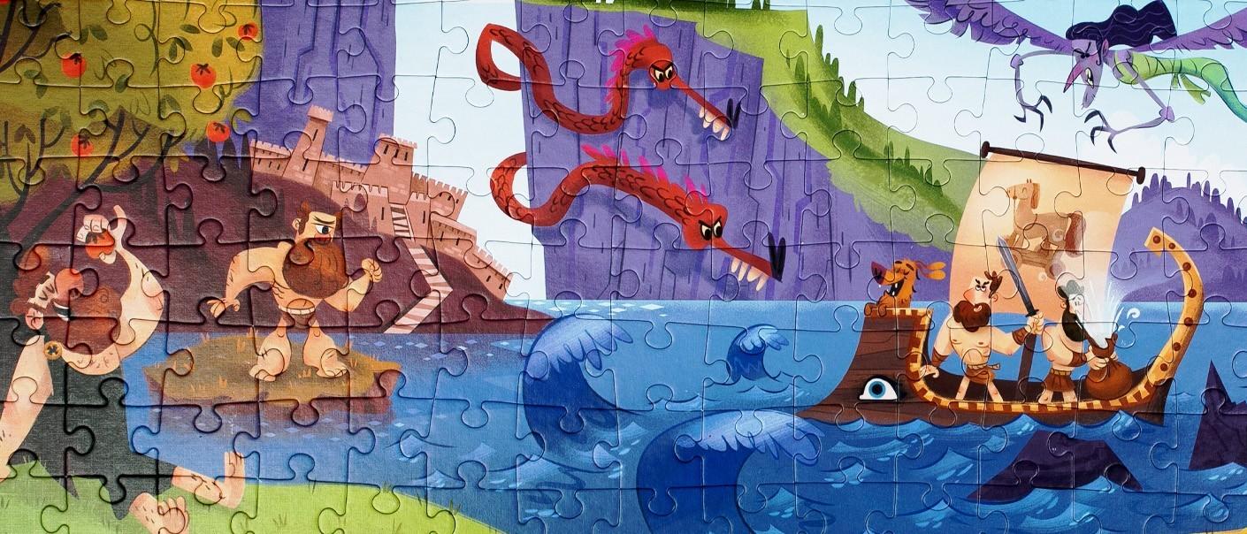 Παζλ - Puzzles   MyGreekGames   OHMYGOD